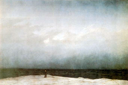 Caspar David Friedrich. Caspar David Friederich, Monk